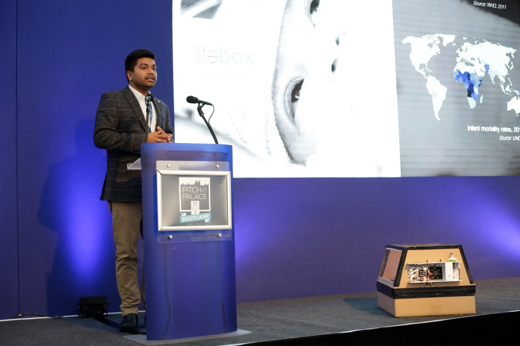 Entrepreneur Malav Sanghavi speaks